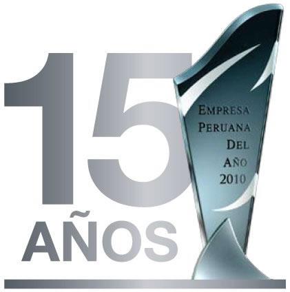 Premio Empresa Peruana del Año 2010 - Edición Nacional.